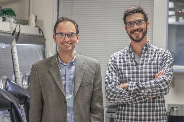 Two of Blue Current's three co-founders, Nitash Balsara (left) and Alex Teran. (Photo courtesy Blue Current)