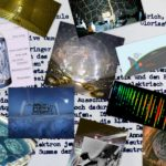 Collage - A collection of images from past, present, and pending neutrino science experiments, including: Daya Bay, DUNE at LBNF, the Homestake experiment, IceCube, KamLAND, ProtoDUNE and SNO. Displayed in the background is the text of a letter that physicist Wolfgang Pauli had written on Dec. 4, 1930, postulating the existence of the neutrino.